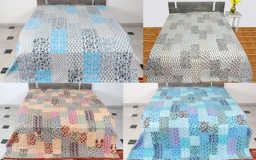 Kantha Bedcover