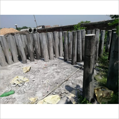 Concrete Guard Post