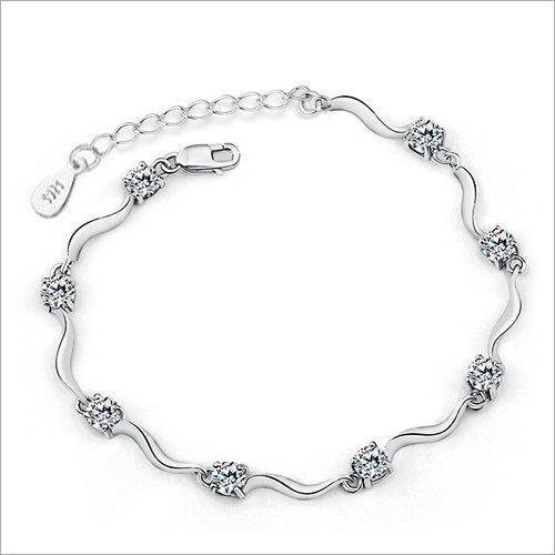 Gemstone Silver Bracelet