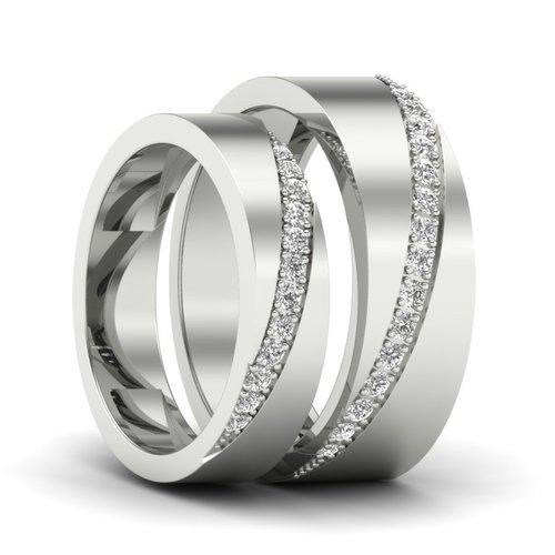Designer Couple Rings Band