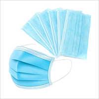 Non Woven 3 Ply Protective Face Mask