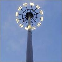 Industrial Street Light Pole
