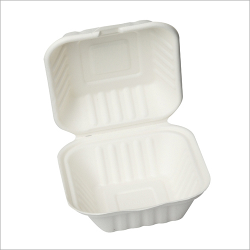 450 ml Bagasse Hamburger Clamshell Box