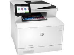 HP Color LaserJet Pro Multifunction M479fdw Wireless Laser Printer