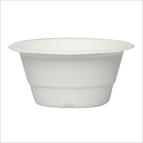 340 ml Bagasse Round Bowl