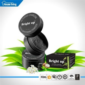 30g bright up teeth whitening natural activated coconut charcoal powder