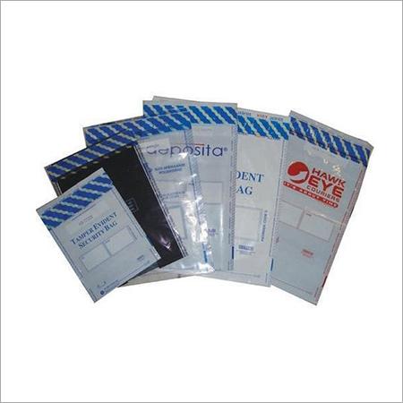Plastic Tamper Evident Bag