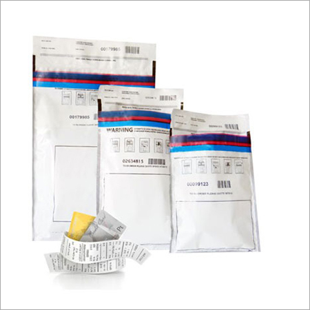 Tamper Proof Evident Plastic Courier Bags