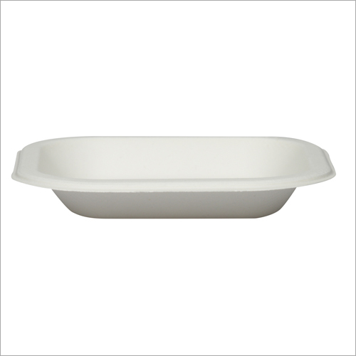 6 inch Bagasse Square Plate