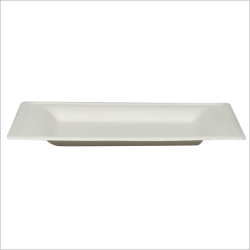8 inch Bagasse Square Plate
