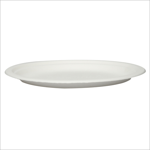 10 Inch Bagasse Round Plate