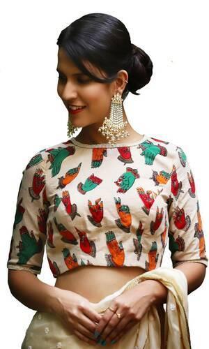 Designer Printed Saree with blouses