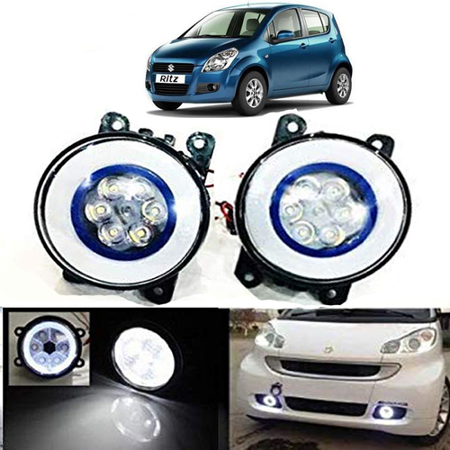 Autofasters Ritz Drl Ring with 6 Led Fog Light