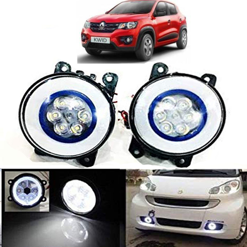 Autofasters Car Fog Light for Kwid With 6 Led