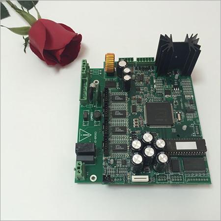 Parts of Control Unit CG06 PCB