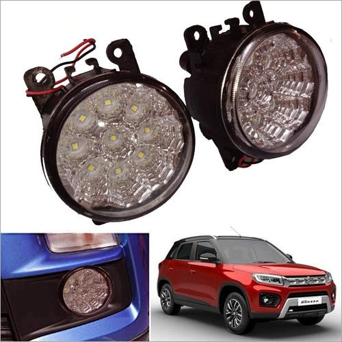 18 LED Car Bumper Fog Lamp Light for Maruti Suzuki Brezza