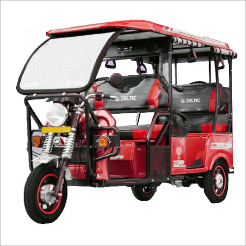 Deltic Battery Operated Passenger E Rickshaw,