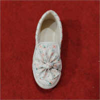 Girls Printed Slip On Shoes