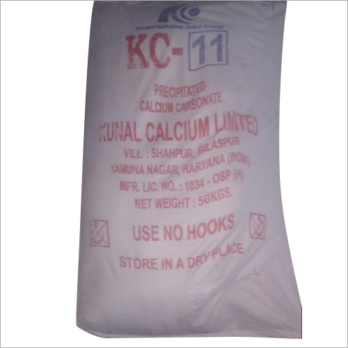 KC-11 Precipitated Calcium Carbonate Powder