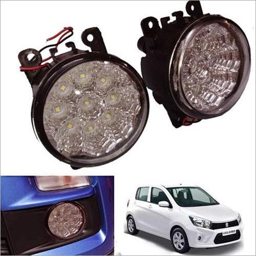 Car Bumper Fog 18 LED Light for Maruti Suzuki Celerio (Black)