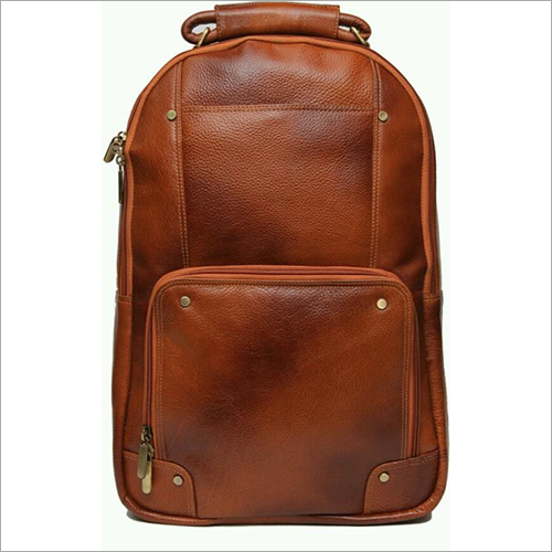 Rexine Leather Backpack
