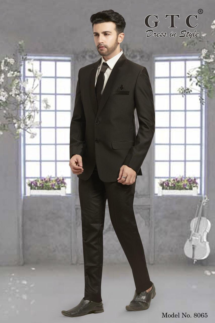 8065 Designer Men Suit