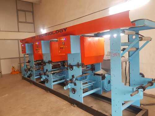Multi Color Rotogravure Printing Machine