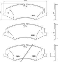 Landrover FR Brake Pads