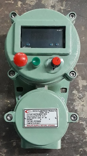 Flameproof RPM Indicator