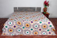 Kantha Bedcover Cotton Quilt