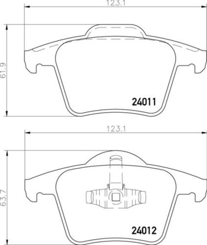 Volvo RR Brake Pads