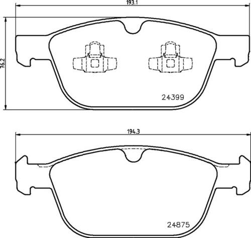 Volvo FR Brake Pads