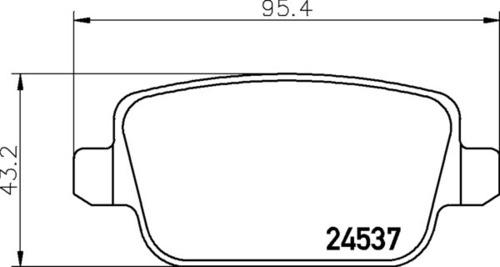 Landrover RR Brake Pads