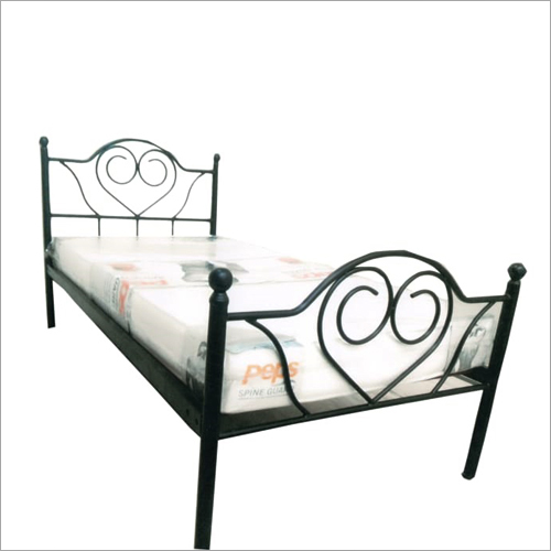 Steel Fancy Single Cot