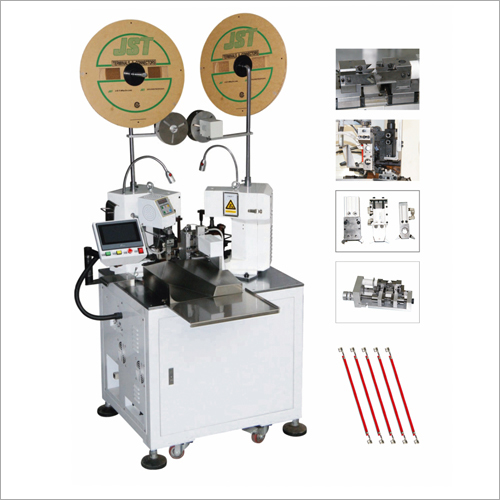 Automatic Double Head Wire Stripping And Crimping Machine