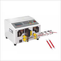 Cutting And Stripping Machine For Wire