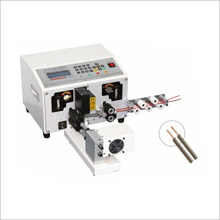 Cutting Stripping And Twisting Machine For Wire