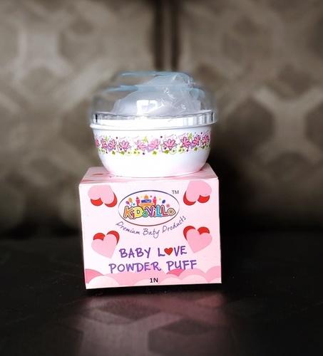 Baby Bottle Powder Puff