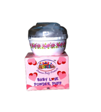 Baby Bottle Powder Puff