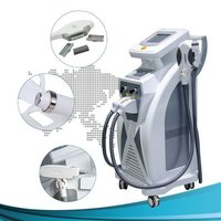 OPT SHR  + COOLING RF +YAG LASER machine