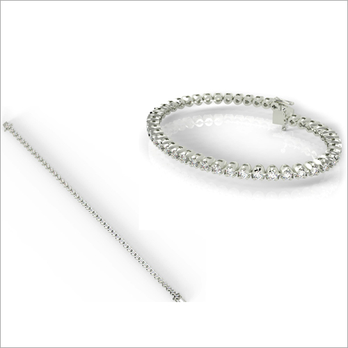 Ladies Designer Diamond Bracelet