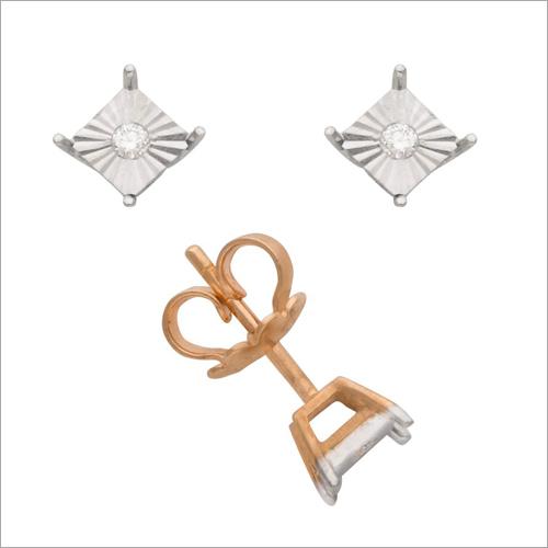 Ladies Diamond Ear Stud