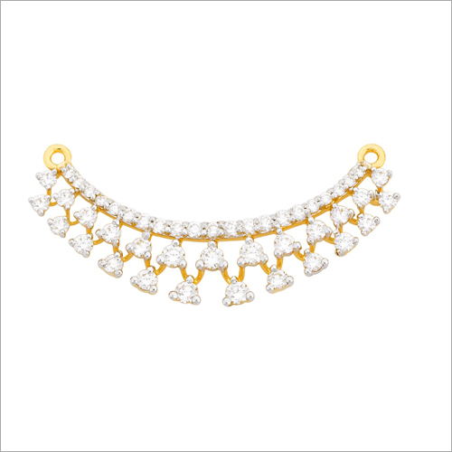 Ladies Gold Diamond Necklace