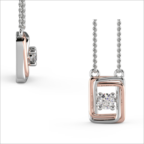 Ladies Real Diamond Pendant