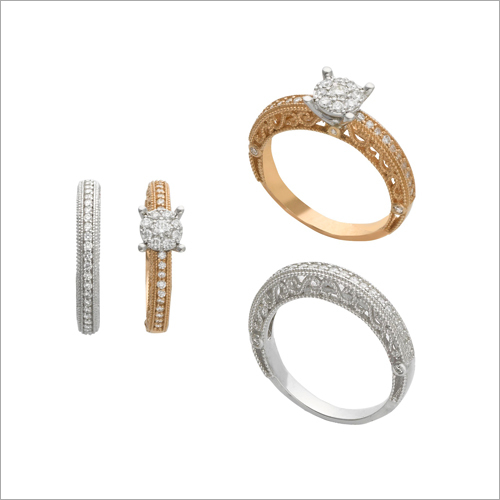 Ladies Diamond Studded Ring