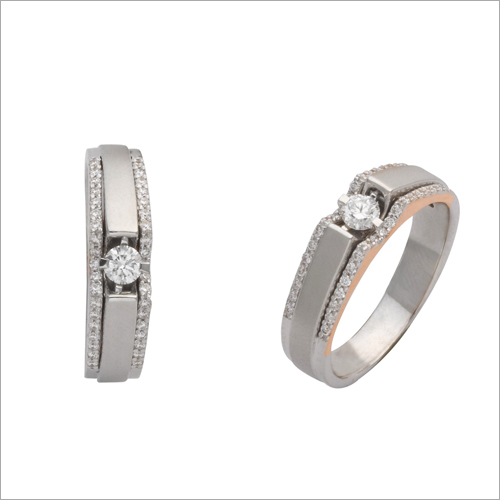 Ladies Trendy Diamond Ring