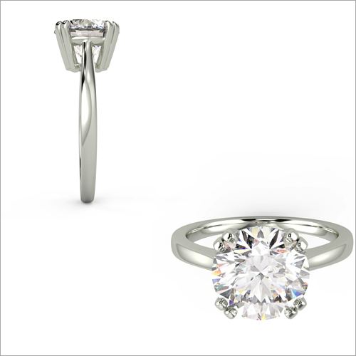 Ladies Single Diamond Ring