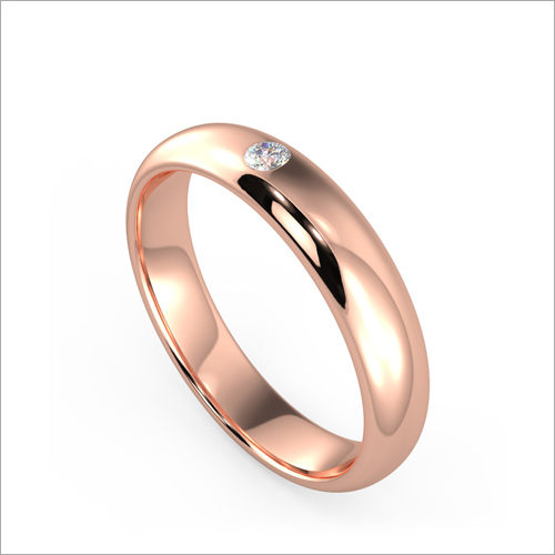 Ladies Rose Gold Designer Ring