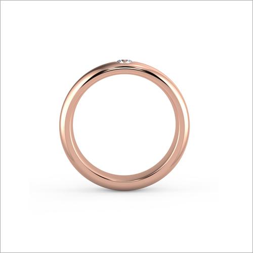 Ladies Rose Gold Designer Ring