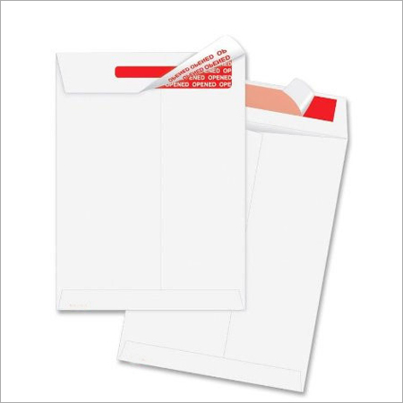 Tamper Indicating Envelope